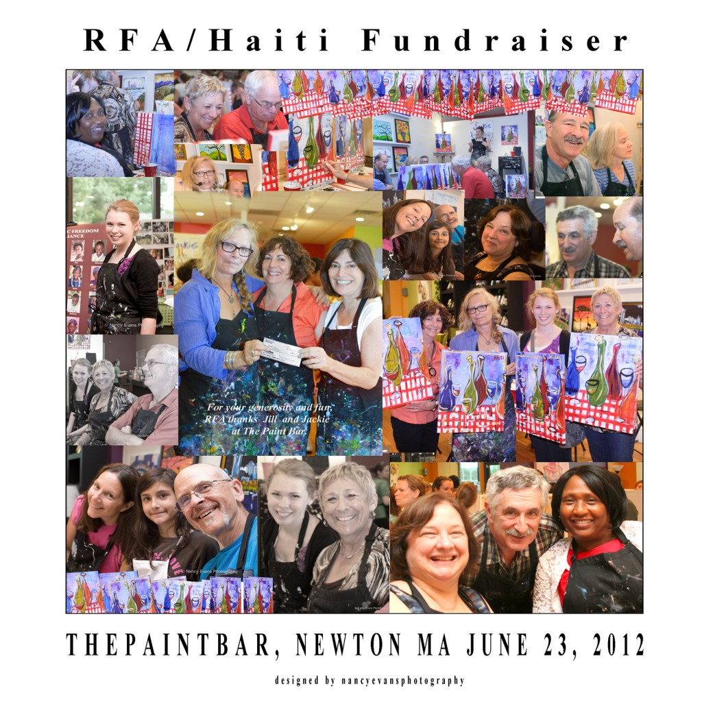 Fundraiser collage